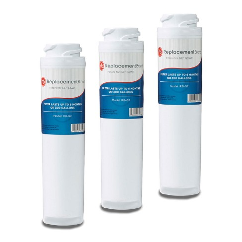 GE GSWF Comparable Refrigerator Water Filter (3pk) - image 1 of 1