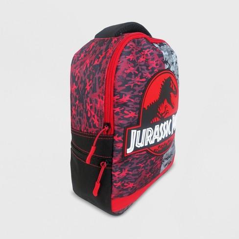 d3937df600a Boys' Jurassic World Backpack - Black/Red