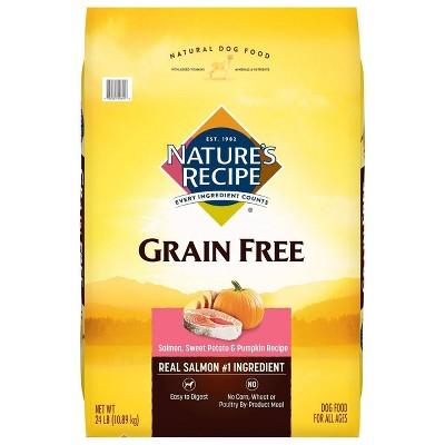 Nature's Recipe Grain Free Salmon, Sweet Potato & Pumpkin Recipe Dry Dog Food