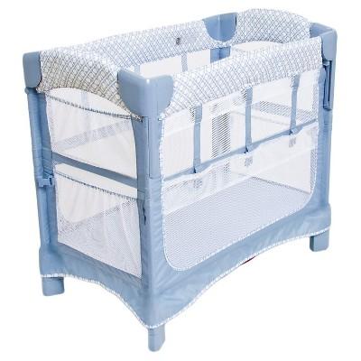 Arm's Reach Co-Sleeper® Bedside Sleeper - Periwinkle Pane