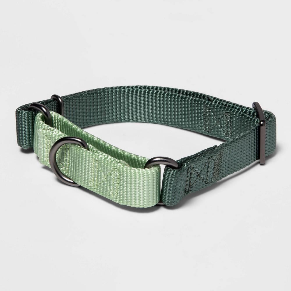 Martingale Dog Collar M Green Boots 38 Barkley 8482
