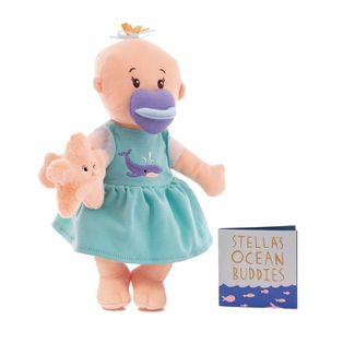 The Manhattan Toy Company Wee Baby Stella Doll - Under the Sea theme