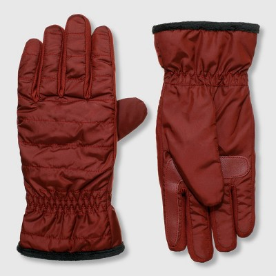Isotoner Women's Insulated Recycled Gloves with UltraPlush Spill - One Size