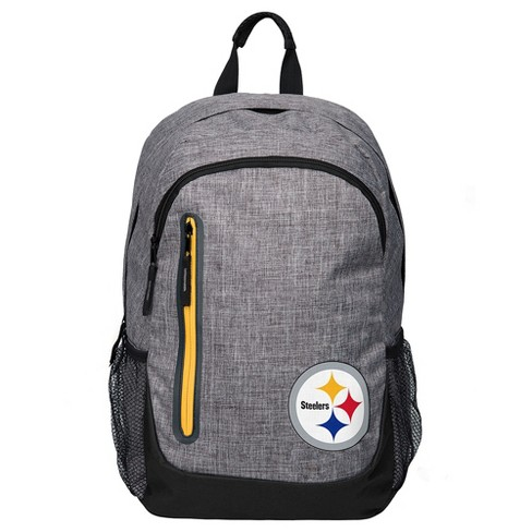 NFL Pittsburgh Steelers Forever Collectibles - Heather Grey Bold Color Backpack - image 1 of 3