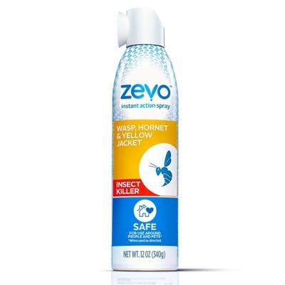 Zevo Wasp Hornet and Yellow Jacket Stinging Insect Spray - 10oz