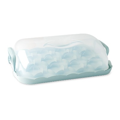 Nordic Ware Cakes and Cupcakes Carrier, Sea Glass