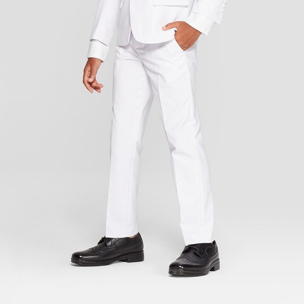 Boys' Suit Pants - WD.NY Black - White 5