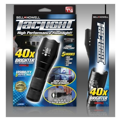 As Seen on TV® Bell + Howell Tactical LED Flashlight