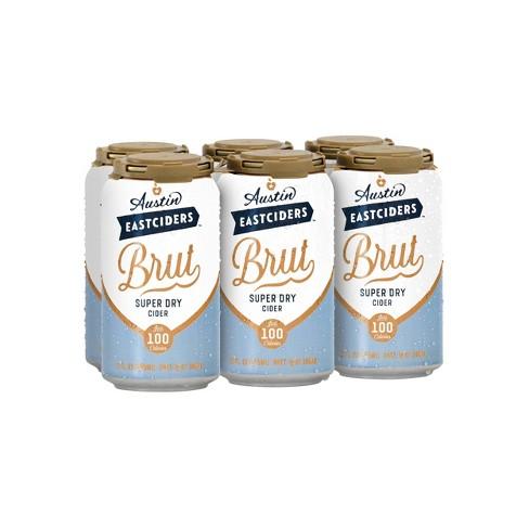 Austin Eastciders Brut Super Dry Hard Cider - 6pk/12 fl oz Cans - image 1 of 3