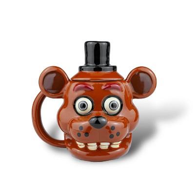 Just Funky Five Nights At Freddy's Freddy Fazbear 14oz Molded Mug