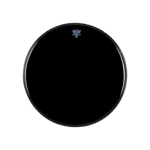 remo ebony powerstroke 3 resonant bass drum head 26 in target. Black Bedroom Furniture Sets. Home Design Ideas