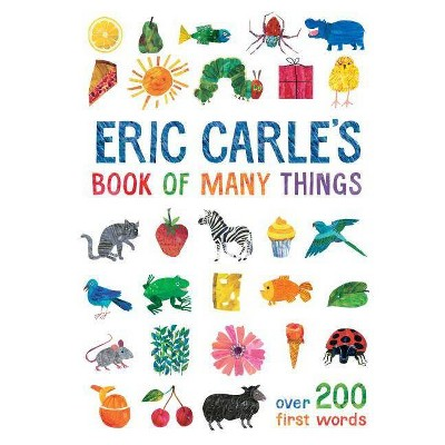 Eric Carle's Book of Many Things -  (World of Eric Carle) (Hardcover)