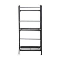 FlipShelf 3 Shelf Narrow Black