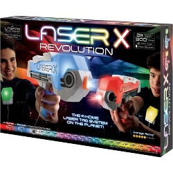 Laser X Two Player Revolution Blaster Laser Tag Gaming Set