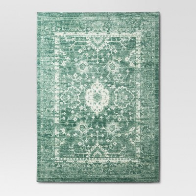 5'X7' Tufted Area Rug Floral Mint - Threshold™