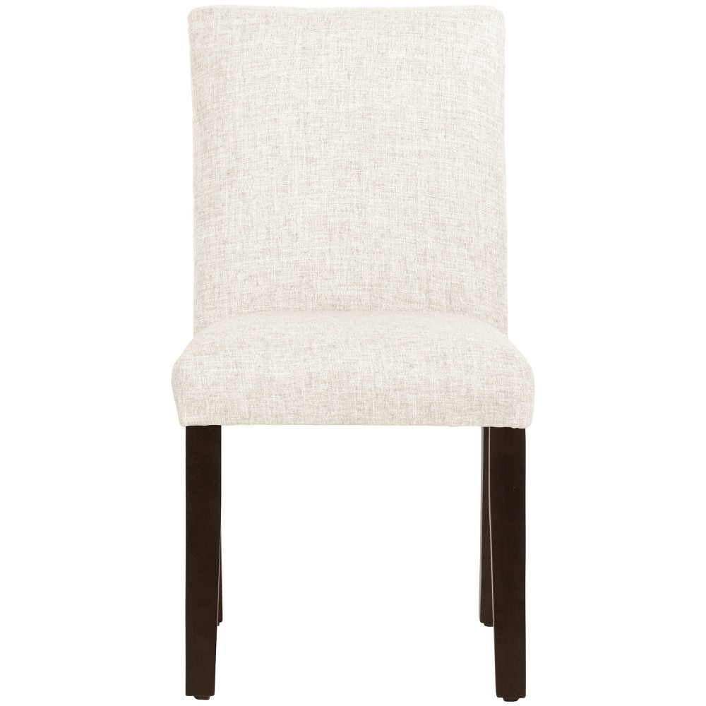 Parsons Dining Chair Off White Linen - Threshold