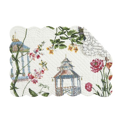 C&F Home Garden Folly Quilted Placemat Set of 4
