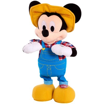 Mickey Mouse E-I-Oh! Feature Plush