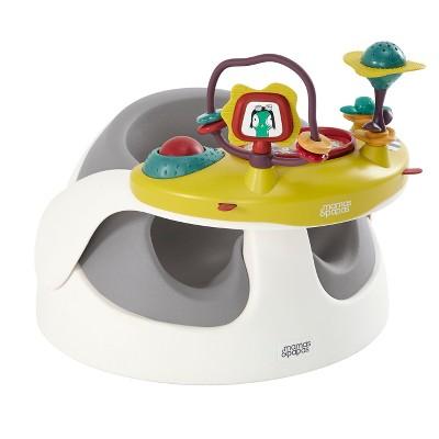 Mamas & Papas Baby Snug & Activity Tray Infant Positioning Seat - Gray