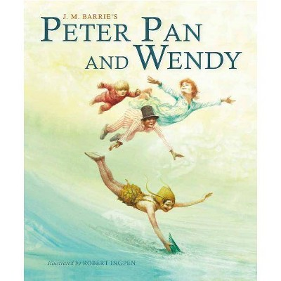 Peter Pan and Wendy - (Palazzo Abridged Classics) Abridged by  James Matthew Barrie (Hardcover)