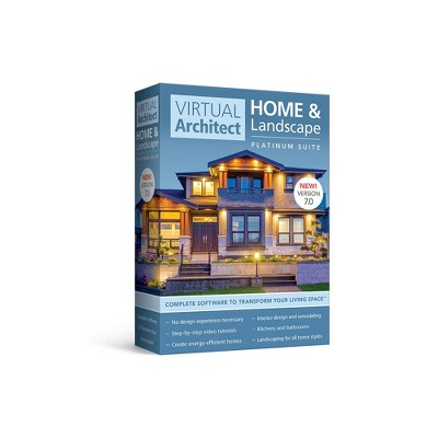 Avanquest Virtual Architect Home & Landscape Platinum Suite 7 - PC - Email Delivery