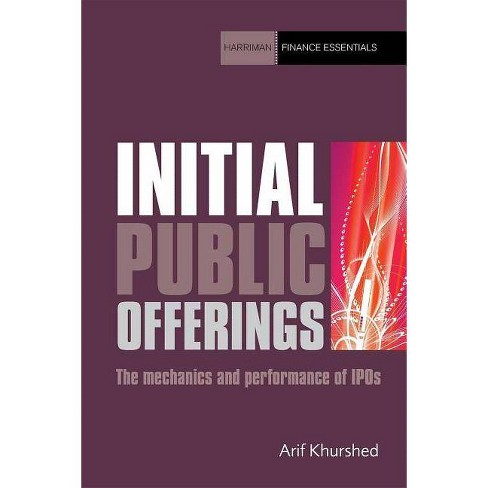 Initial Public Offerings - (Harriman Finance Essentials) by  Arif Khurshed (Paperback) - image 1 of 1