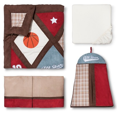 Sweet Jojo Designs Crib Bedding Set - All Star - 11pc