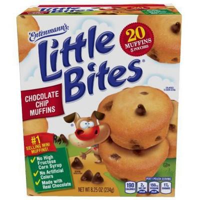 Entenmann's Little Bites Chocolate Chip Muffins - 8.25oz