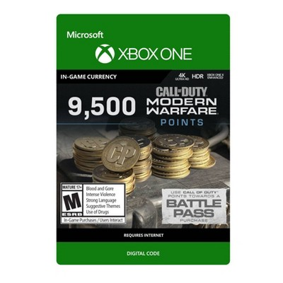 Call of Duty: Modern Warfare 9,500 Points - Xbox One (Digital)