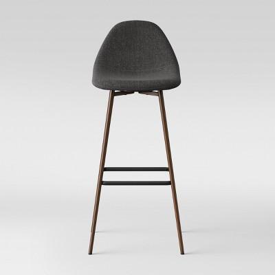 Copley Upholstered Barstool - Dark Gray - Project 62™