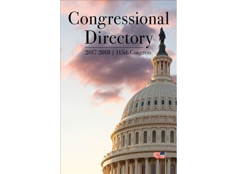 Official Congressional Directory, 2017-2018 : 115th Congress -  (Hardcover) - image 1 of 1