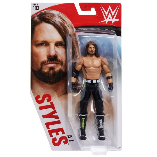 WWE AJ Styles Action Figure - Series 103 image number null