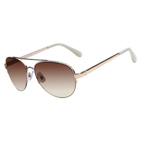 14e8e0abf7 Women s Aviator Sunglasses - Gold   Target