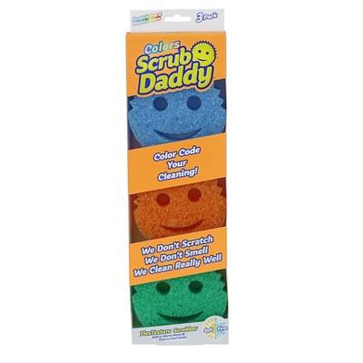 Scrub Daddy Colors Sponge - 3pk