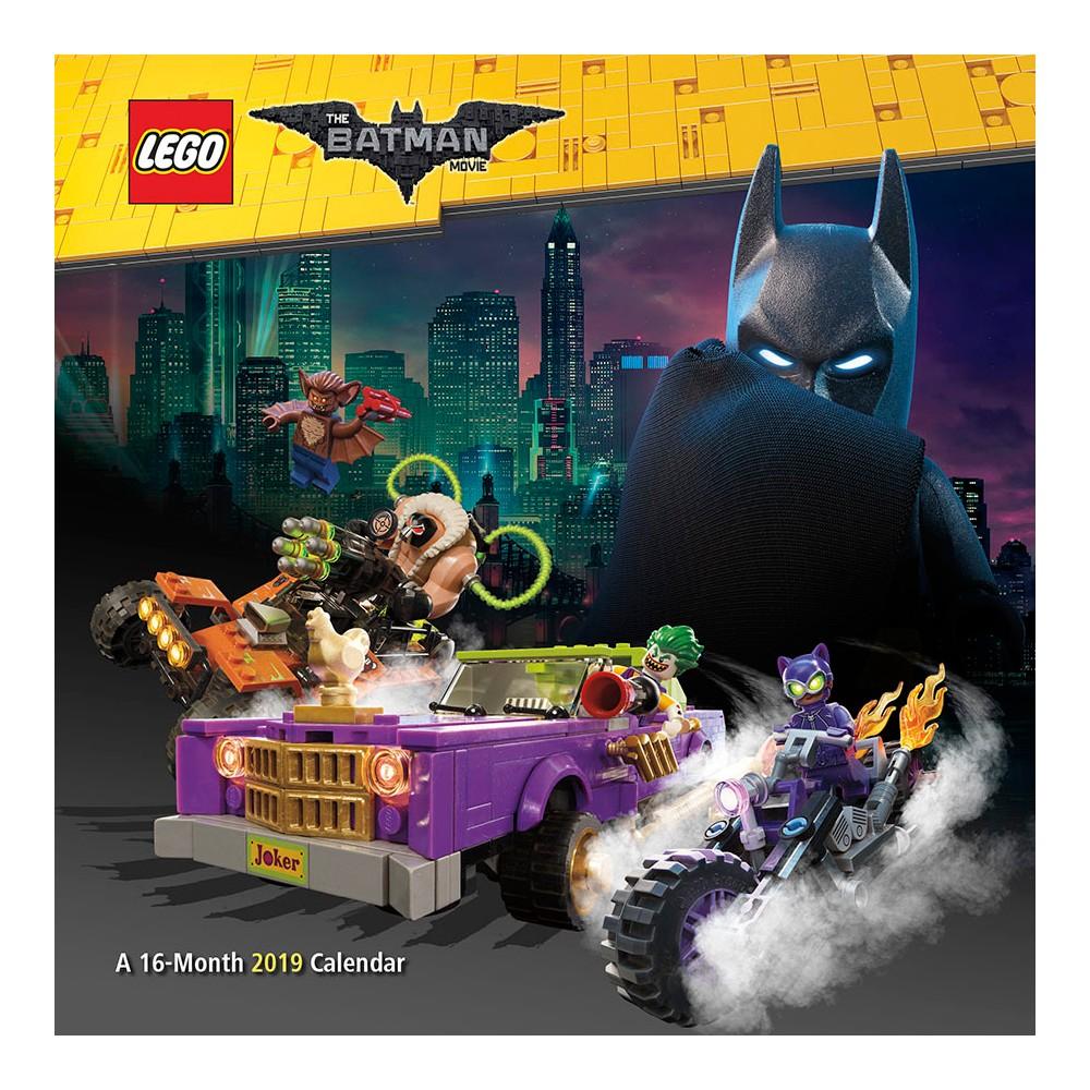 2019 Wall Calendar Lego Batman Movie - Trends International, Multi-Colored