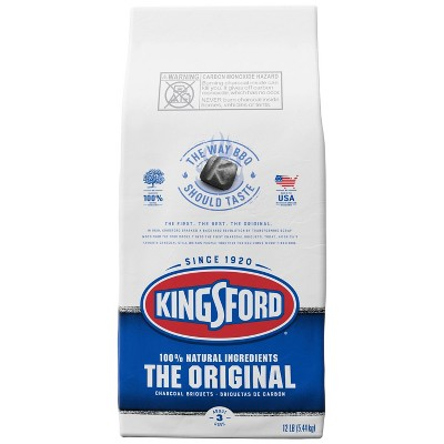 Kingsford Original Charcoal Briquettes, BBQ Charcoal for Grilling - 12lbs