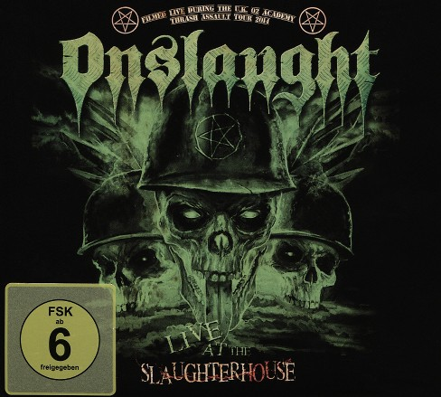Onslaught - Onslaught:Live at the slaughterhouse (CD) - image 1 of 1