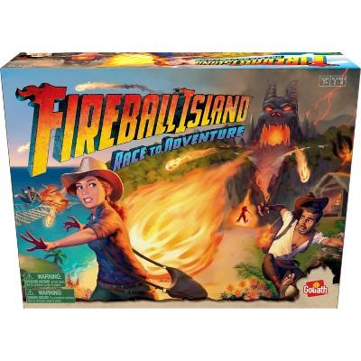 Goliath Fireball Island: Race to Adventure Board Game