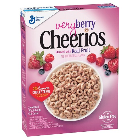 Cheerios Very Berry Gluten Free Breakfast Cereal - 11oz - General Mills - image 1 of 4