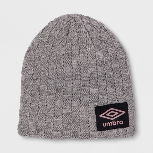 Umbro Heritage Youth Knit Skully Hat - Light Gray   Target c1e4fd6f9088