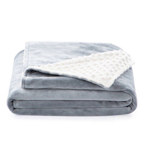 """38"""" x 48"""" Comfort Collection Microplush Weighted Blanket Cover - Lucid - image 1 of 4"""