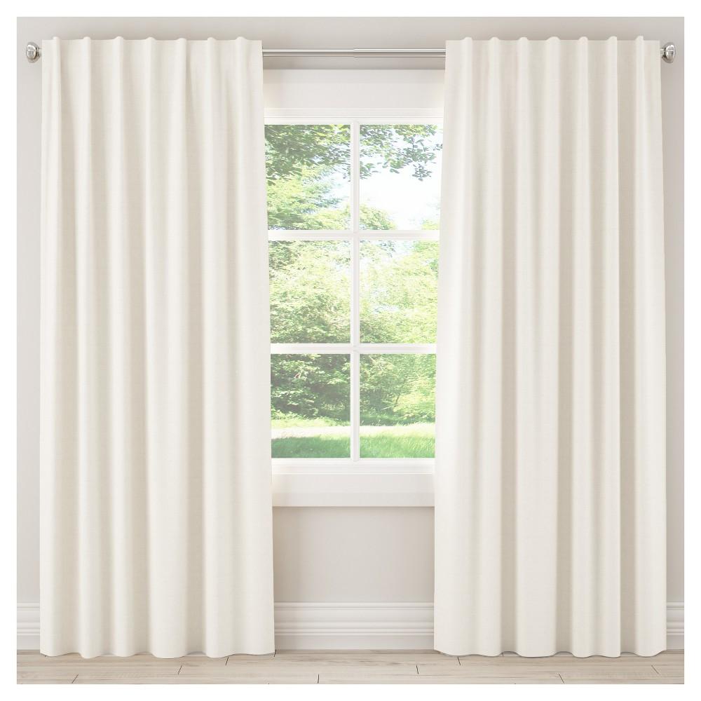Blackout Zuma Curtain Panel White (50