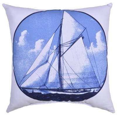 Outdoor Throw Pillow Square - Sailboat - Threshold™