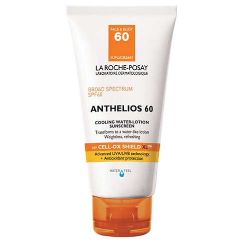 La Roche-Posay Anthelios Cooling Water-Lotion Sunscreen-SPF 60 - 5.0oz - image 1 of 3