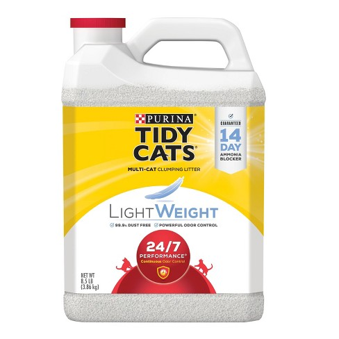 Purina Tidy Cats Lightweight 24/7 Performance Multiple Cats Clumping Litter - 8.5lbs - image 1 of 4