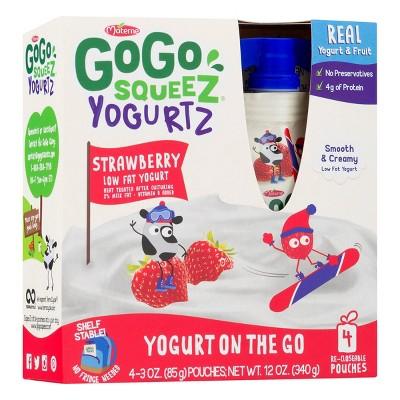 Applesauce: GoGo SqueeZ YogurtZ