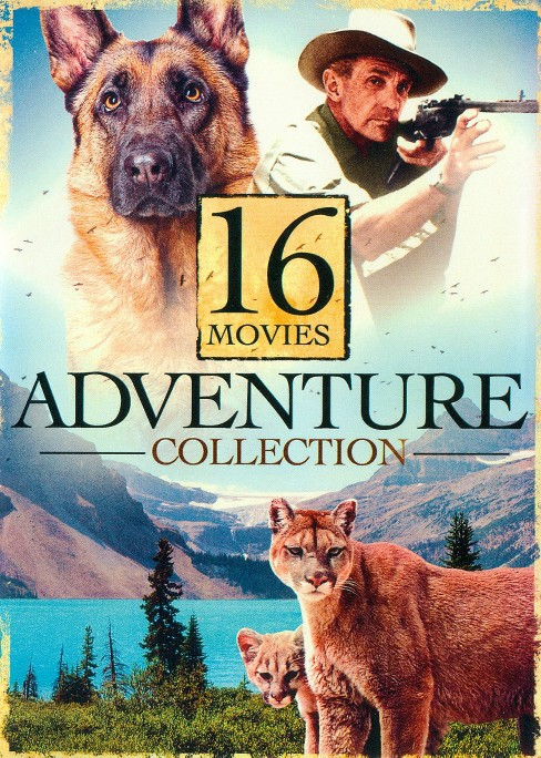 16 movie adventure collection (DVD) - image 1 of 1