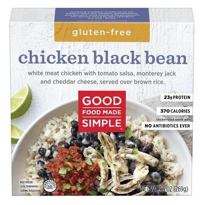 Good Food Made Simple Frozen Chicken Blackbean - 9.5oz