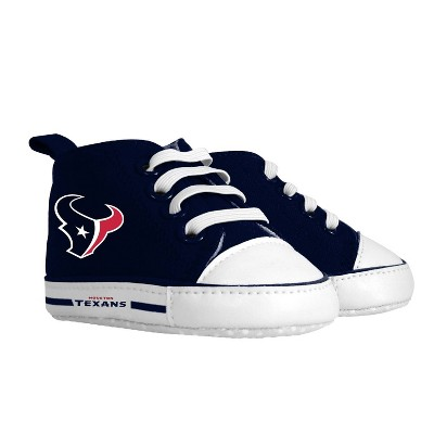 NFL Houston Texans Baby High Top Sneakers - 0-6M