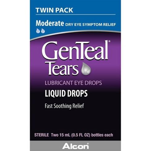 GenTeal Tears Lubricant Eye Drops Twin Pack - 1 fl oz - image 1 of 3